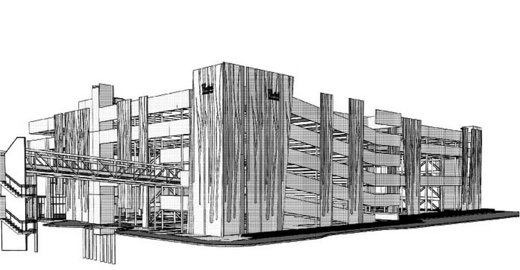 Multi Level Car park, Riccarton Road